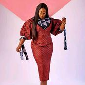 Latest and Gorgeous church outfits from stylish Ankara designs