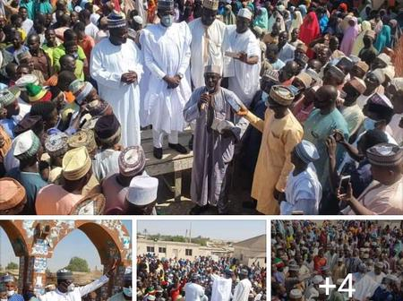 See How People Of Kano Received Hon Abdulmumini Jubrin