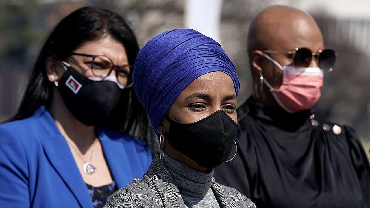 Omar slams Biden admin for continuing 'the construction of Trump's xenophobic and racist wall'