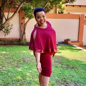 Rebecca Malope Slays In Red Somizi Sneakers