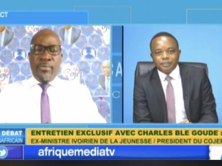 Blé Goudé sur Afrique média :