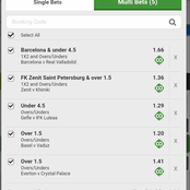 Eight(8) Sure Over 2.5 Goals and GG Tips To Place on and Earn Good Cash