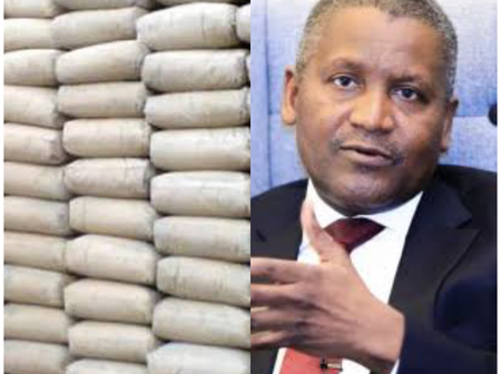 Price Of Cement: See What Dangote Has Said About The Price Of Cement In Nigeria.