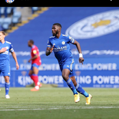 Nigerian striker leads Leicester City to a comeback against Burnley
