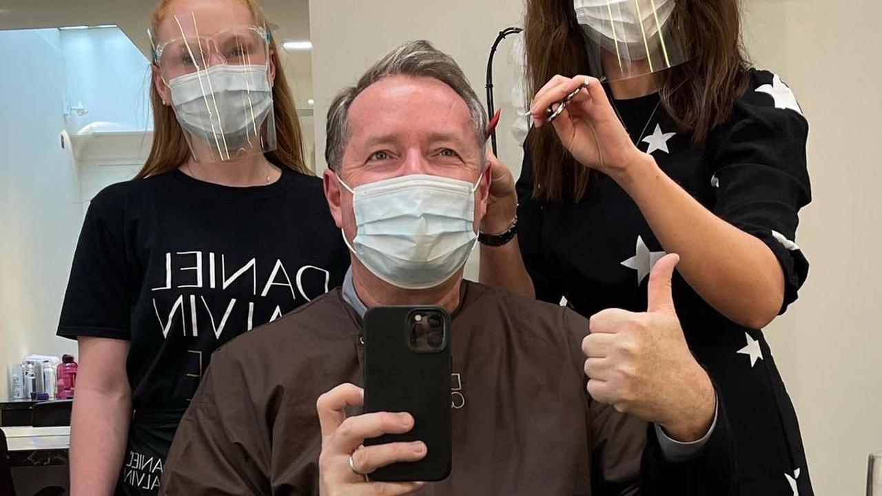 Gogglebox's Ellie Warner and Stephen Webb return to work as hairdressers open up and Piers Morgan gets £125 hair cut