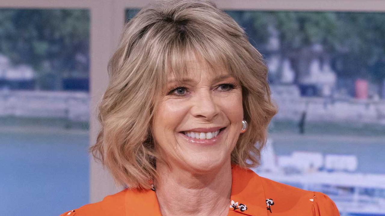 Ruth Langsford looks so youthful in bold dress and bouncy waves