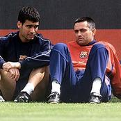 Picture When Mourinho was Assistant Coach at Barcelona, Guardiola Was Playing for Barcelona