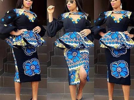 Latest, Classy And Gorgeously Made Ankara Styles For All Matured Ladies