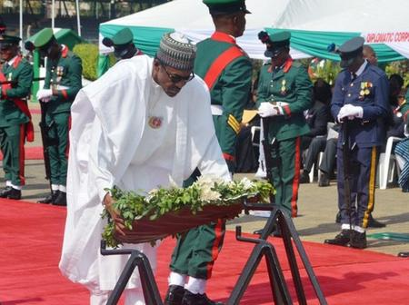 Nigeria Celebrates Armed Forces Remembrance Today.