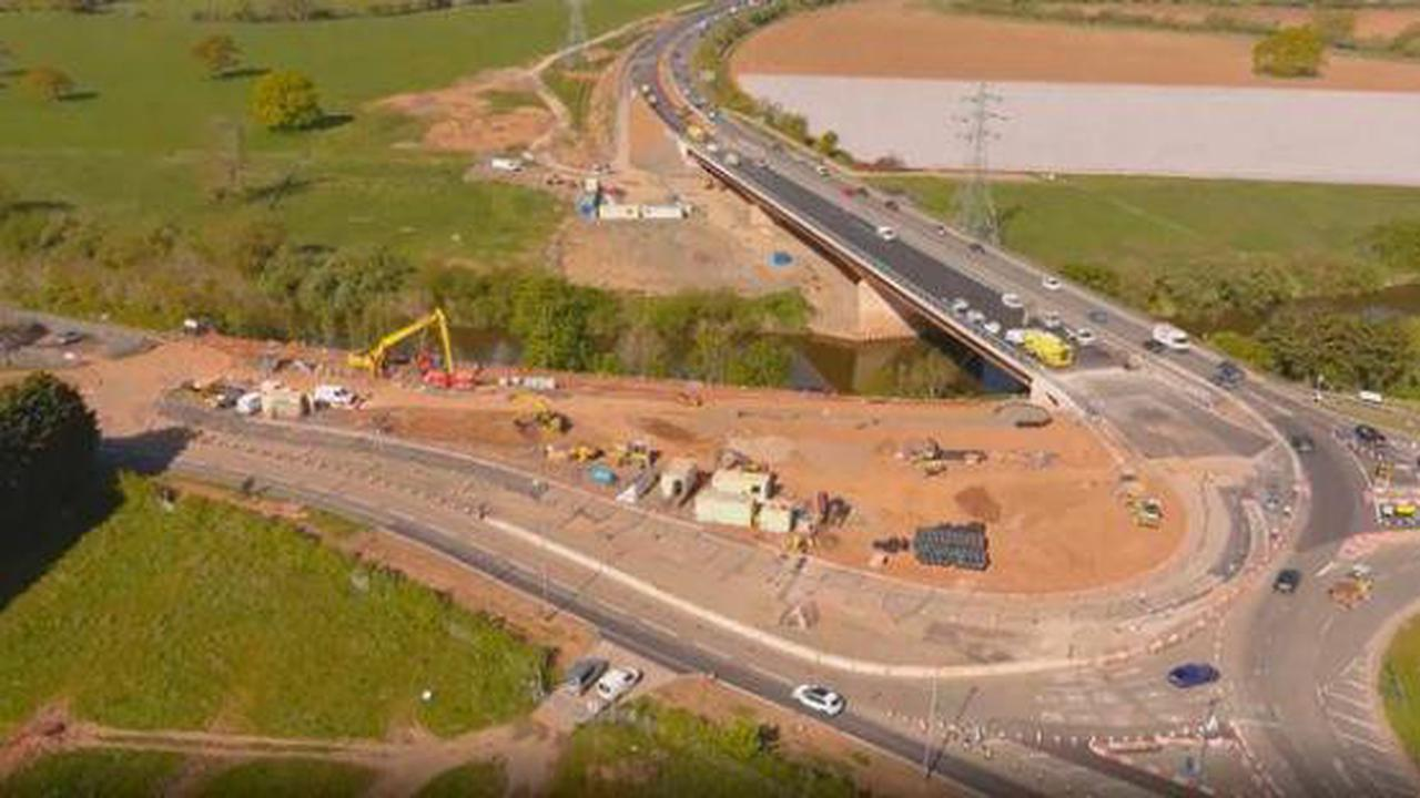 Southern Link Road weekend closure (and cyclists and walkers must wait much longer)