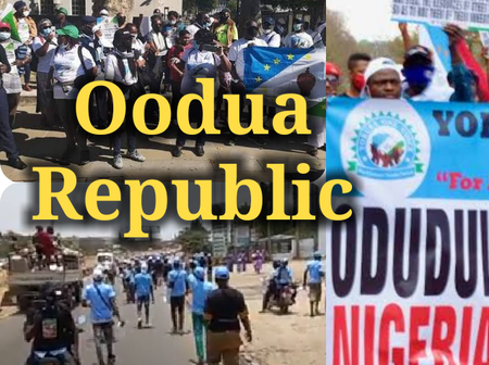 (Photos) Yoruba People Rally Round For Oodua Republic In Ibadan.