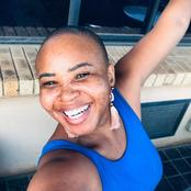 Women's Month: Hulisani 'CC' Ravele Enjoys Her Bald Hairstyle and Freckled Face