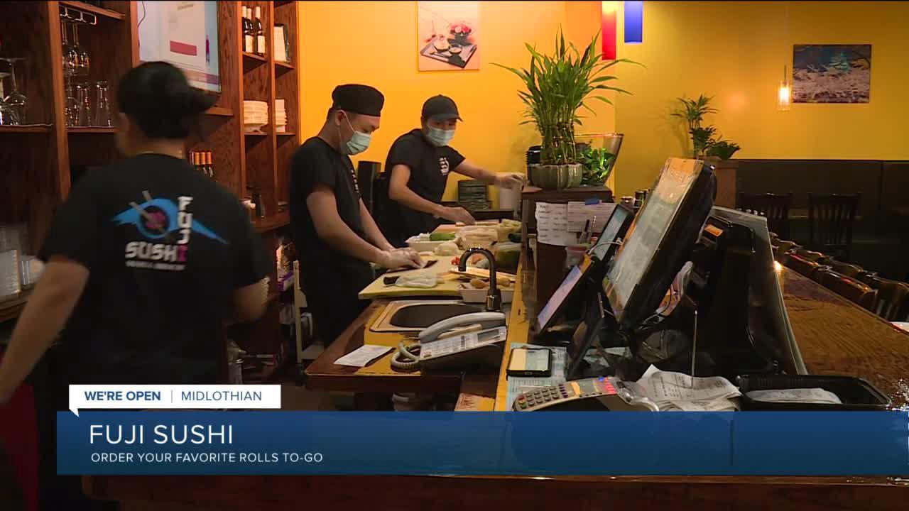 Fuji Sushi grateful for loyal customers amid pandemic