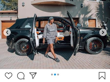 Tweets still reacting to Ma'Mkhize's hot new wheels