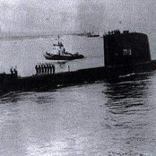 إغراق الغواصة الإسرائيلية