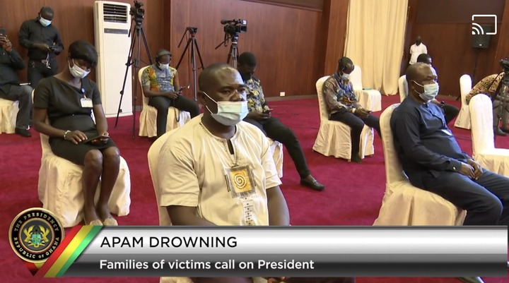 78931e3c770e40a2b5280953e96215dd?quality=uhq&resize=720 - Apam Drowning Incident: Families Of Victims Meet Akufo-Addo Face-To-Face; Scenes From Jubilee House