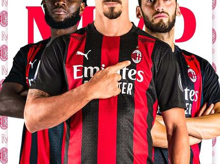 AC Milan are one of the favourite teams to win the Seria A