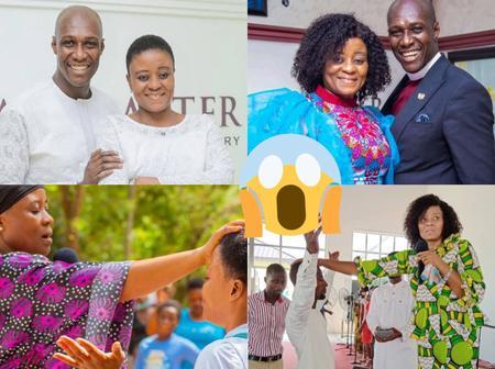 10 Photos That Prove Prophet Kofi Oduro's Wife Is A Powerful & Beautiful Woman Of God In Ghana
