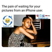 """""""The Pain Of Waiting For Your Pictures From An iPhone User"""" - And Other Funny Memes"""