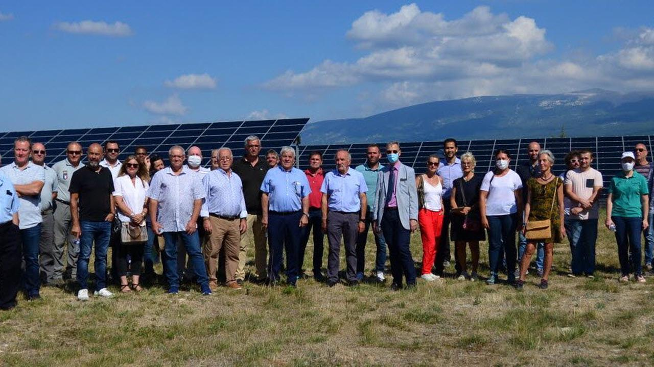 La centrale photovoltaïque a 10 ans