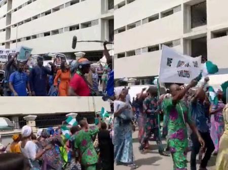 Another Protest: See What Happened In Lagos State That Made A Lot Of People React Online