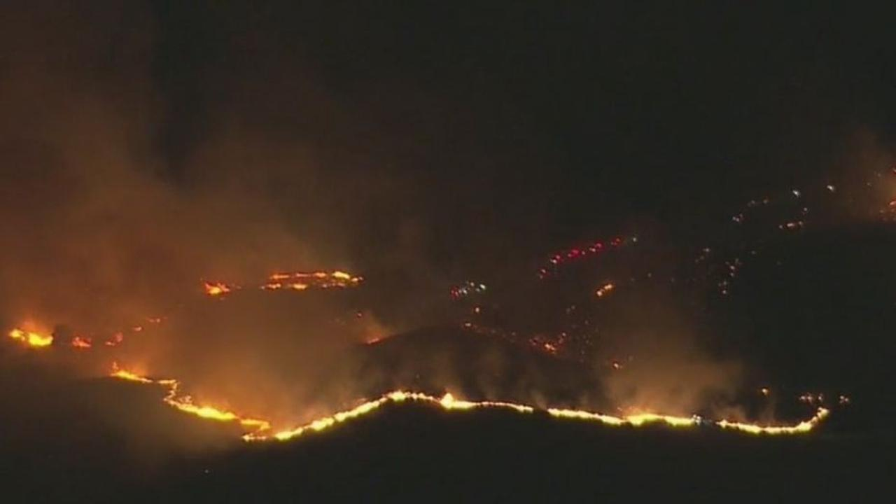 Bonita Fire 30% Contained; 715 Acres Burned