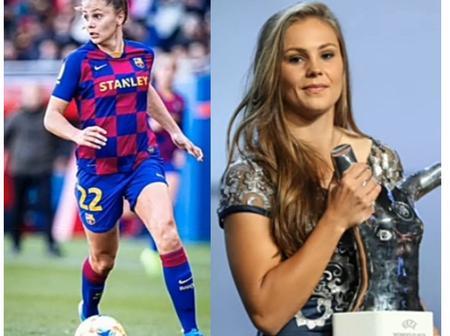 24 Barcelona FC Women Players (Photos)