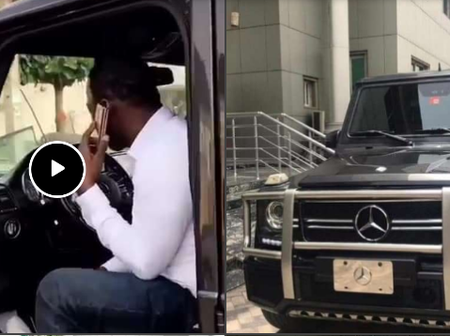 Popular Fuji Star, Wasiu Alabi Pasuma Buys New G-WAGON