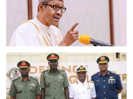 Opinion: A Can Of Worms May Be Uncovered If President Buhari Investigates The Former Service Chiefs