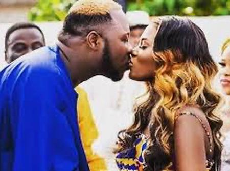 Lovely pictures that show Medikal and Fella are meant for each other.
