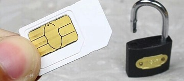 How To Open A Padlock Using A Sim Card When You Lose Your Keys