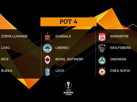 OFFICIAL: Europa League Group stage pairings confirmed as Lukaku beats Fernandes to Best Player Award.