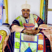 PHOTOS: Oluwo of Iwo Wishes The Great Woman in His Life Happy Women's Day