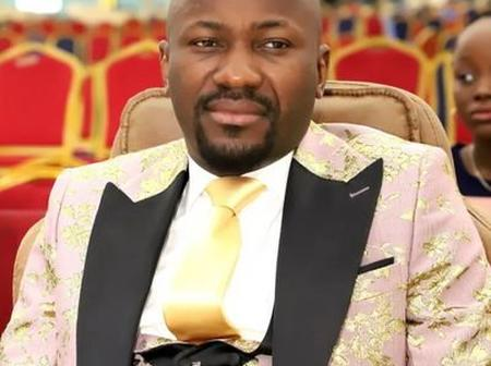 Mixed Reactions As Apostle Johnson Suleman Tweeted This Prayer