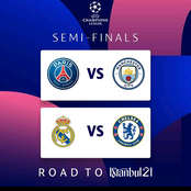 Here are the dates for the Champions League Semifinals, after City and Real qualified.