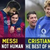 12 Players who played with both Messi and Ronaldo - See how they compared them