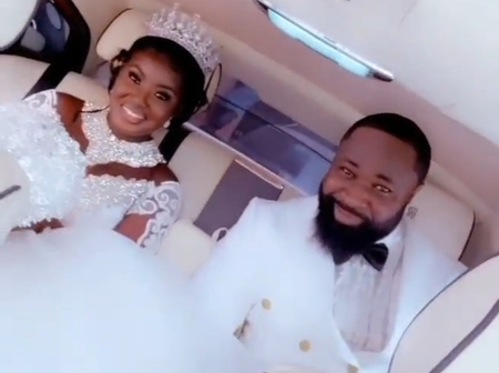 Photos of singer, Harrysong and his newly wedded wife