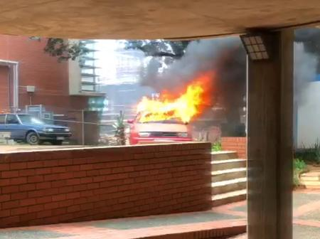 Fire - The Only Language Mangosuthu University of Technology Students Are Currently Speaking