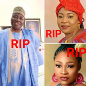 Comrade Silas Adamu, his wife and daughter die