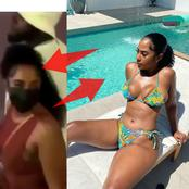 This is the lady Davido was seen holding hands with that sparked reactions; See more photos of her