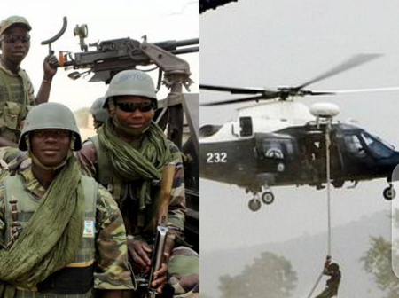 See What Nigerian Army and Air Force Did To Bandits In Zamfara State Yesterday
