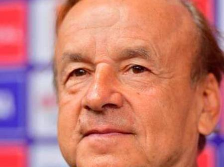 Despite the win, see what the Super Eagles Coach Gernot Rohr said about team