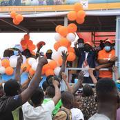 Législatives 2021 : retour en images sur la parade de Kandia Camara pour la fin de campagne