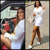 Linda Ikeji wears shorts for the first time, shares lovely photos