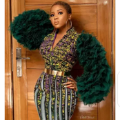 Checkout Various Ankara Short Gown Designs For Fashionistas