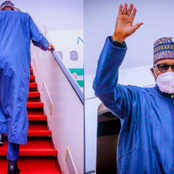 Reno's Drops An Open Letter For Buhari After His Presidential Jet Landed In Abuja From London