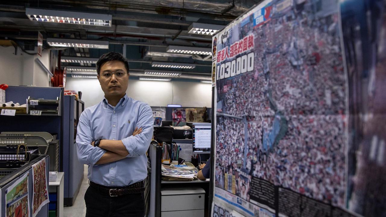 Hong Kong: raid de la police dans le journal pro-démocratie «Apple Daily»