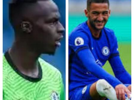CHELSEA FC: Latest Updates On Ziyech And Mendy Ahead Of Premier League Match Against Southampton.