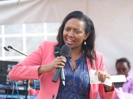 Susan Kihika Reaction To Mutahi Kagwe's Move To Ban Private Vaccine