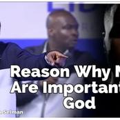 The Reason Why Men Are So Important To God - Apostle Joshua Selman Reveals